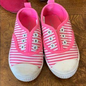 Joe Fresh Little Girl Sneakers- Pink Size 6
